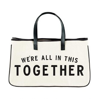 Canvas Tote: We're all in This Together