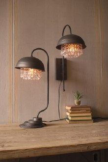 Metal Dome Table Lamp