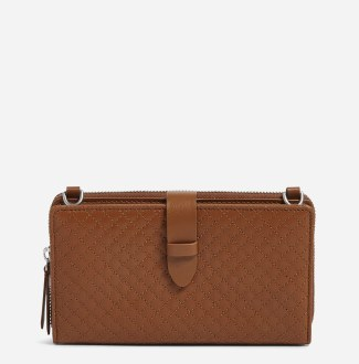Carryall Deluxe All Together Crossbody Acorn Brown