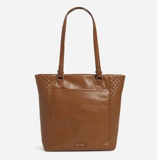 Carryall Small North South Tote Acorn Brown
