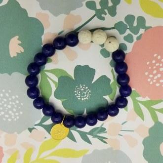 Blue Diffuser Bracelet