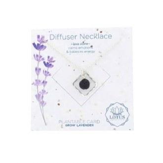 Diffuser Necklace-Diamond