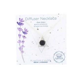 Diffuser Necklace-Triangle