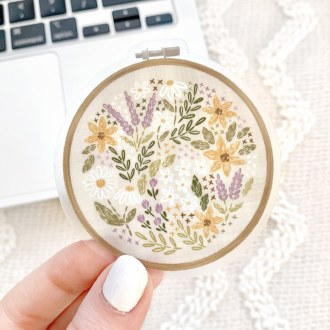 Sticker: Embroidery Hoop