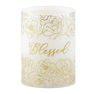 "Lumology Led Candle: ""Blessed"""