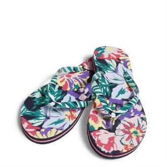 Flip Flops: Happy Blooms Large