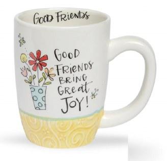 Good Friends Bring Great Joy Mug