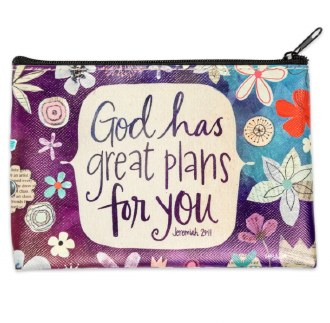 God has Great Plans For You Coin Purse