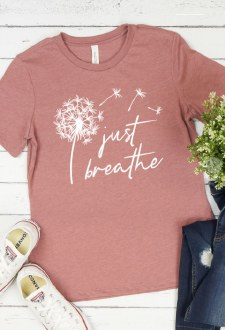 Just Breathe Tree