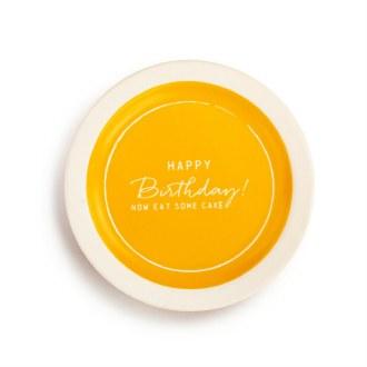 Celebration Plate: Happy Birthday!