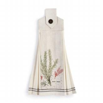 Hanging Tea Towel: Herb-ivore