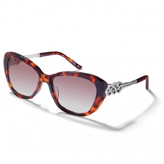 Interlock Cascade Tortoise Sunglasses