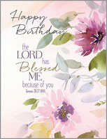 Happy Birthday Genesis 30:27