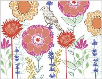 Floral - Blank