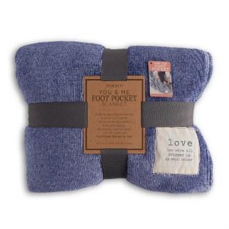 You & Me Foot Pocket Blanket