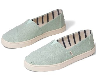 Mint Heritage Canvas Cupsole 7.5