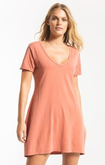 Organic Cotton T-Shirt Dress S