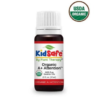 Organic A+ Attention KidSafe Essential Oil 10ml