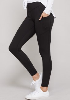 Pocket Butter Leggings Black Medium