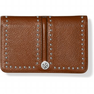 Pretty Tough Medium Zip Wallet Bourbon