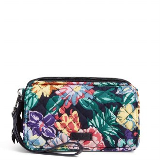 RFID All in One Crossbody: Happy Blooms