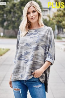 Army French Terry Tunic