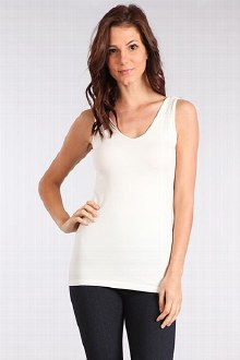 Sleeveless V/Scoop Neck Tank O