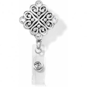 Alcazar Clip-On Badge Clip