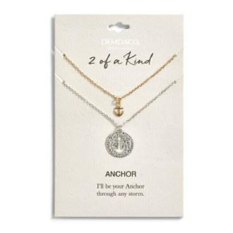 Anchor Necklace Set