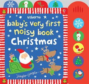 Baby's First Noisy Book Christmas