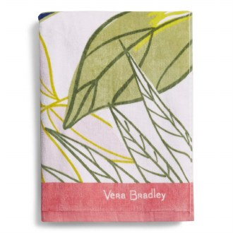 Beach Towel Rain Forest Leaves