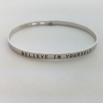 Believe in Yourself (Silver)
