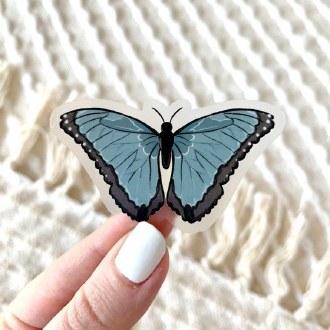 Sticker: Blue Morpho Butterfly