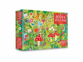 Book & Jigsaw Puzzle Bugs