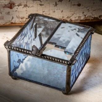 Blue Glass Box