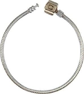 Gold Snap Bracelet