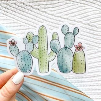 Sticker: Cactus Club