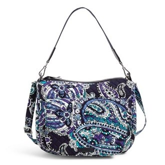 Carson Shoulder Bag Deep Night Paisley