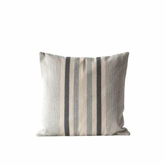 Cotton Woven Striped Pillow