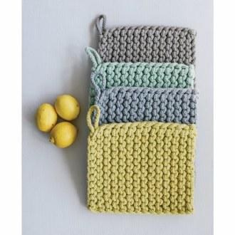Cotton Crocheted Pot Holder