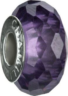 Purple Jeweled Collection Bead