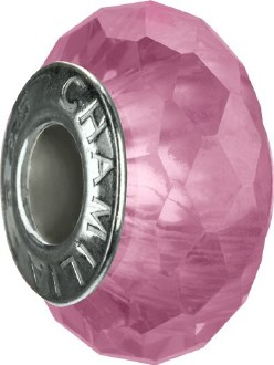Light Pink Jeweled Collection Bead