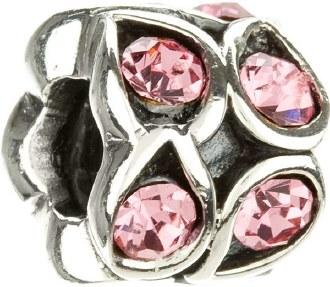 Rose Paisley Sparkle Bead