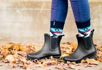 Chelsea Matte Black Ankle Boots