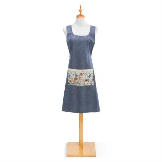 Crossover Apron: Meadow Flowers