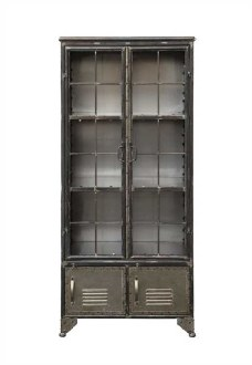 Metal Cabinet with 4 Doors
