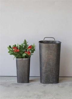 Tin Wall Bucket