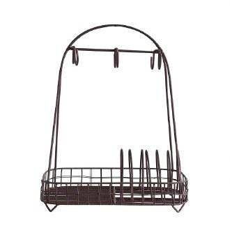 Metal Dish Holder