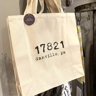 Danville Zip Code Canvas Tote