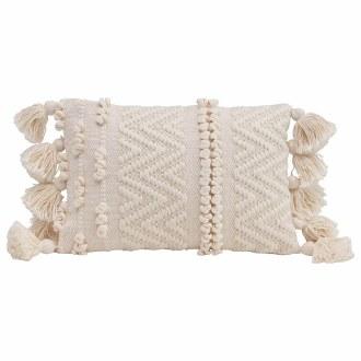 Woven Cotton Lumber Pillow